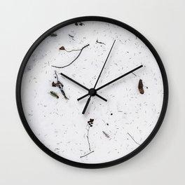 Snø Wall Clock