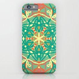 mandal art iPhone Case