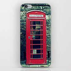 Red Telephone Boxes iPhone & iPod Skin