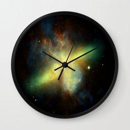 Galaxy : Messier 82 Wall Clock