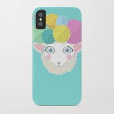 Sheepy Yarn Head Slim Case iPhone X