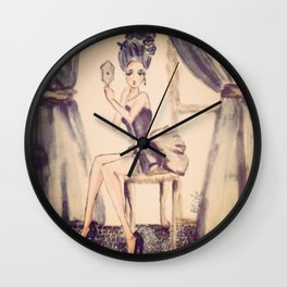marie antoniette Wall Clock