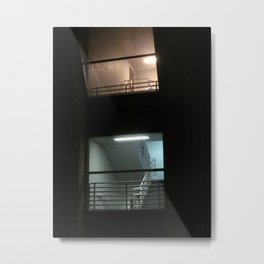Upstairs Downstairs Metal Print