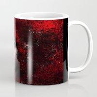 carmilla Mugs featuring Carmilla by BabsArtCreations