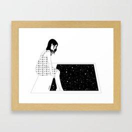 Frozen Moment Framed Art Print
