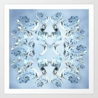 crystals Art Prints featuring Crystals by Armin