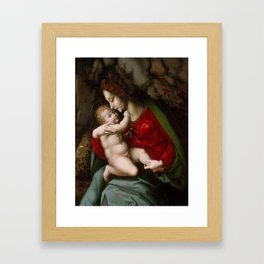 Bachiacca  -  Madonna And Child Framed Art Print