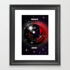 Phantastic universe. Framed Art Print