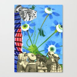 Active & Passive Canvas Print