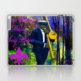 NEW ORLEANS JAZZ TROMBONE LET THE GOOD TIMES ROLL!! Laptop & iPad Skin