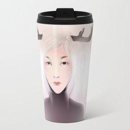 women_deer Travel Mug