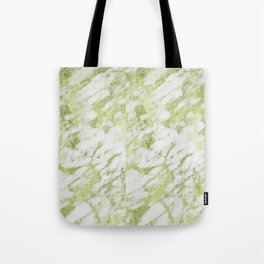 green marble Tote Bag