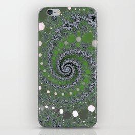 Fractal Swirl iPhone Skin