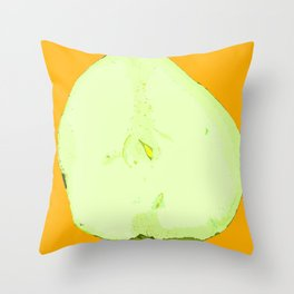 Pear Twin One Throw Pillow