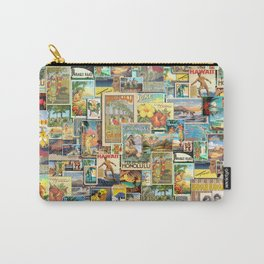 Vintage Hawaii Carry-All Pouch