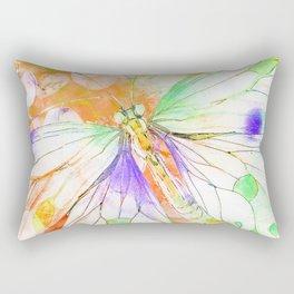 Carnival Butterfly Rectangular Pillow