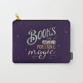 Books = Magic Carry-All Pouch