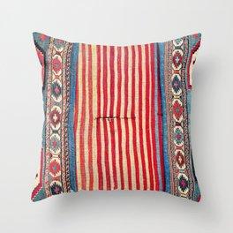 Shahsavan  Antique Azerbaijan Persian Khorjin Throw Pillow
