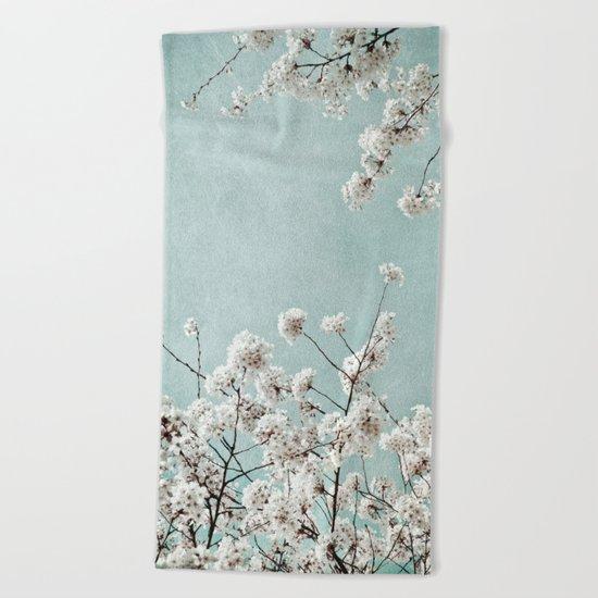 springtime Beach Towel