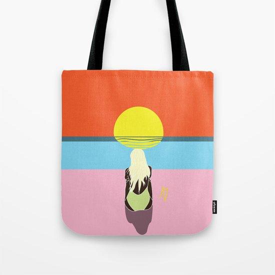 Sunset Babe Tote Bag