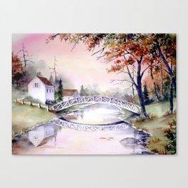 Arched Bridge Canvas Print