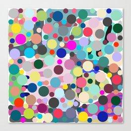 Bouncing Bubble Hue Canvas Print