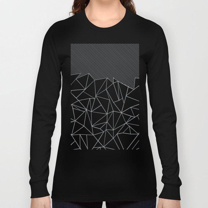 Ab Linear Grey Long Sleeve T-shirt