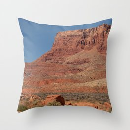 Colorful Mesas 3 - Desert Southwest Throw Pillow