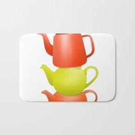 Teapot  Pattern Bath Mat
