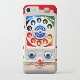 Retro Vintage smiley kids Toys Dial Phone iPhone 4 4s 5 5s 5c, ipod, ipad, pillow case and tshirt iPhone Case