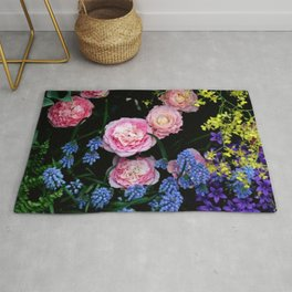 Mixed Flowers Rug