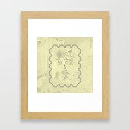 imaginary tree Framed Art Print