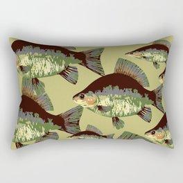 Sun Fish Rectangular Pillow