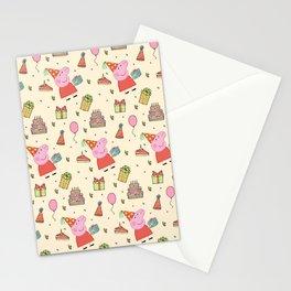 Peppa Pg Pattern 01 Stationery Cards