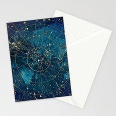 Star Map : City Lights Stationery Cards