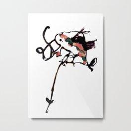 Chameleon hunt上鉤 Metal Print