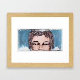 Don't let me go Framed Art Print
