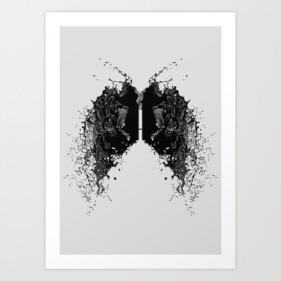 Tar Art Print