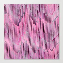 Pink Madness Canvas Print