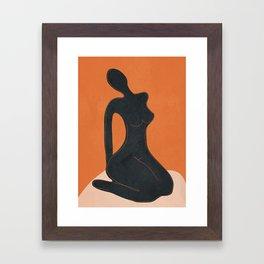 Abstract Nude II Framed Art Print