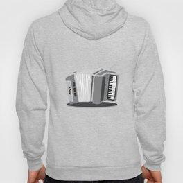 Accordion Aerophone Harmonica Wind Instruments Musicians Gift Hoody