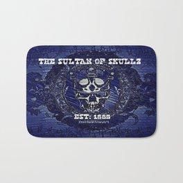 The Sultan Of Skullz Bath Mat
