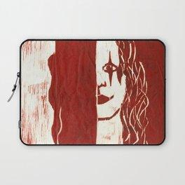 Brandon Lee Red Laptop Sleeve