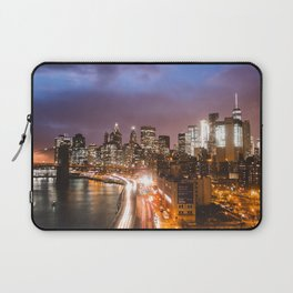NYC FDR Drive Twilight Laptop Sleeve