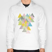 french Hoodies featuring French Alps by Cassia Beck