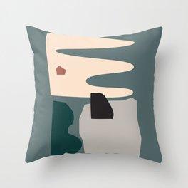 // Shape study #21 Throw Pillow