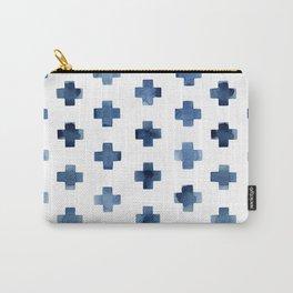 Crosses Scandinavian Pattern Carry-All Pouch
