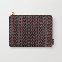 Covered in Vinyl / Vinyl records arranged in scale pattern Carry-All Pouch
