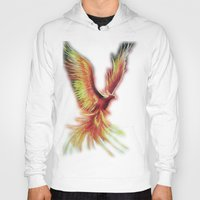 phoenix Hoodies featuring phoenix by OLHADARCHUK