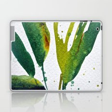 Tropical Green Leaves  Laptop & iPad Skin